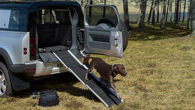 Cars for dog lovers: Land Rover pet pack