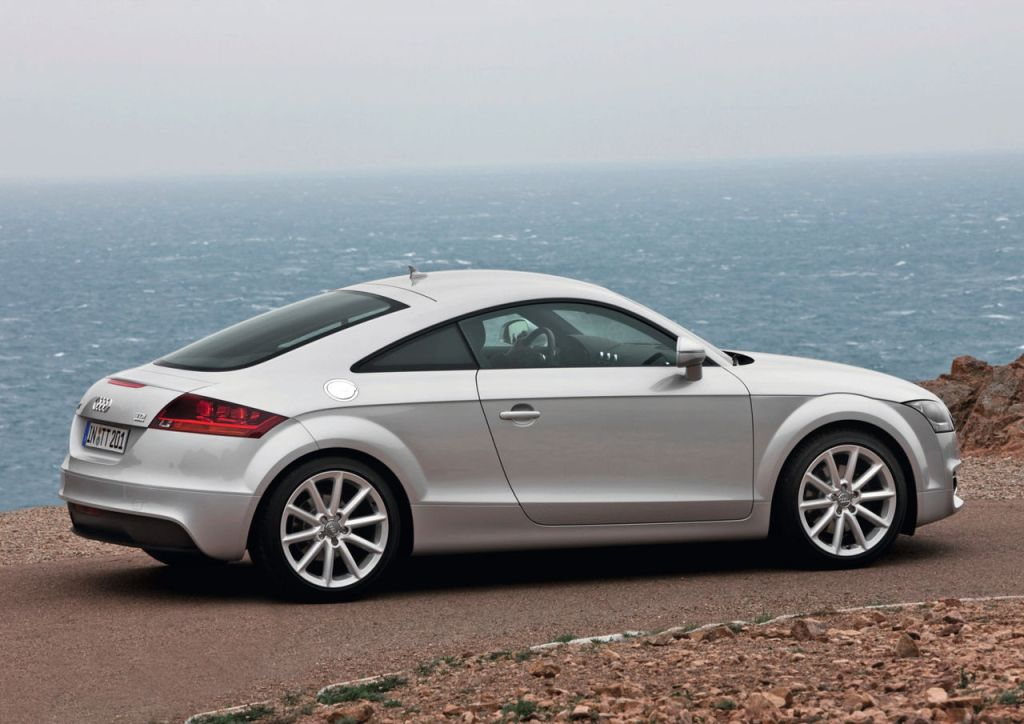 Silver Audi TT: likely to become collectible.